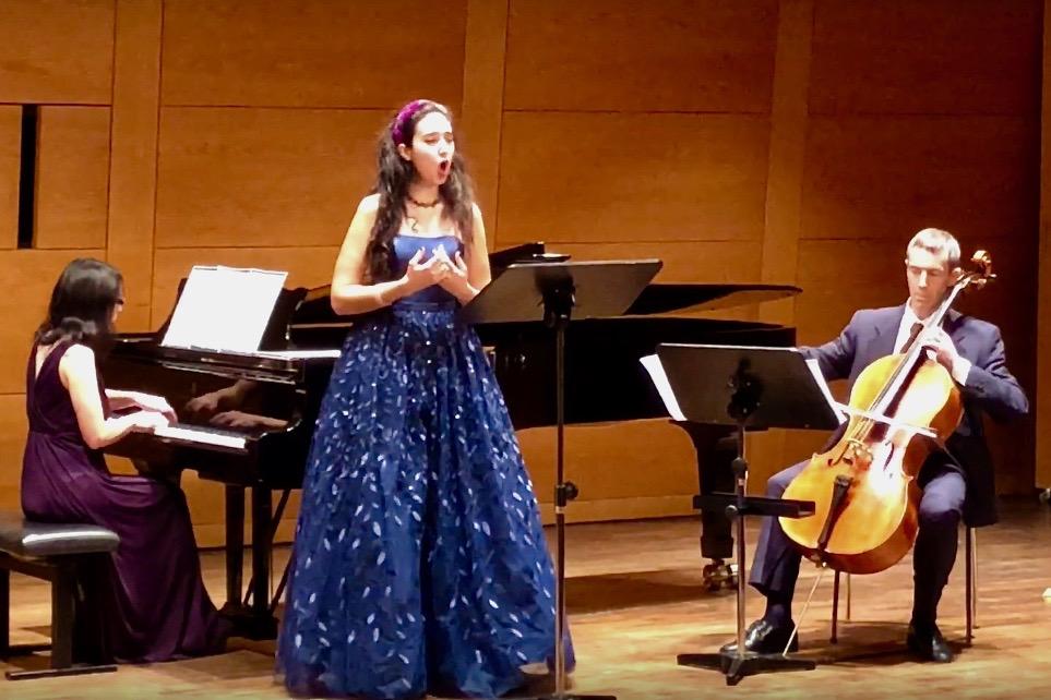 Konzert des Komponisten Graham Waterhouse im kleinen Saal Gasteig - Anspielprobe © Marcus Freisem
