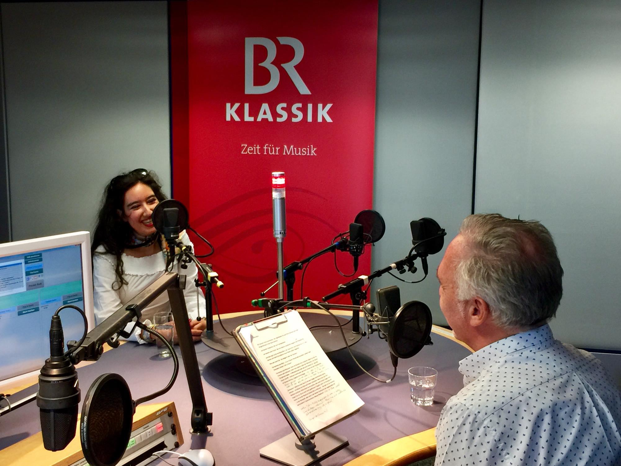 Interview mit Michael Atzinger im Bayrischen Rundfunkhaus - BR Klassik