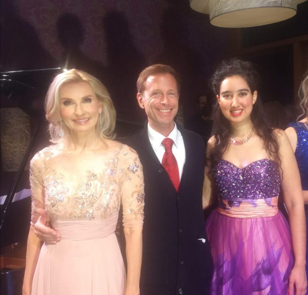 mit Eva Lind und Dr. Adrian Hollaender in Achenkirch - Eva Lind Musikakademie Tirol