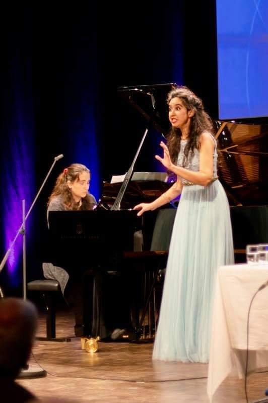 BR Sternstunden - Hommage an Clara Schumann mit Charlotte Baumgartner © Marcus Freisem